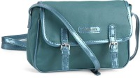 Donna & Drew Women Blue, Green Artificial Leather Sling Bag