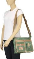 Arshia Green Medium Sling Bag - Green