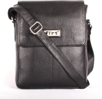 Heaven Deal Women Formal Black Leatherette Sling Bag