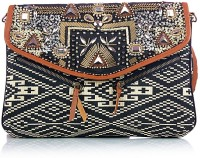 Shaun Design Egypt Embroidered Cross Body Medium Sling Bag - SLBDX5HKNCFQDFCF