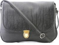 Felicita Women, Girls Casual, Formal, Evening/Party Black PU Sling Bag