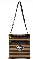 Parv Collections Women Casual Brown Leatherette Sling Bag