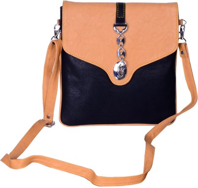 Hysty Girls Brown Genuine Leather Sling Bag for Rs. 1,034 at ...