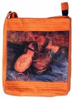 The Museum Outlet Women Orange Canvas Messenger Bag - SLBECQYZPSXVZFGS