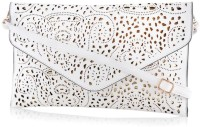 Daphne Women Casual White PU Sling Bag