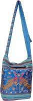 Womaniya Women, Girls Casual Blue Canvas Sling Bag - SLBE53VMUHPCNFGW
