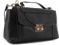 Lavie Women Black Synthetic Sling Bag