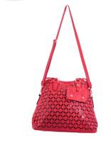 AVANEESH Girls Red Leatherette Hand-held Bag