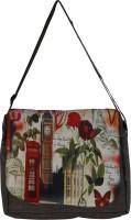 Moladz Women, Girls Casual Grey Canvas Sling Bag