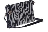 Satchel Bags & Accessories Stripes Side Buckle Medium Sling Bag - Black-01
