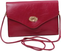 Classique Women Casual, Formal, Evening/Party Maroon PU Sling Bag