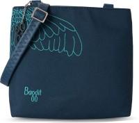 Baggit Women Blue Leatherette Sling Bag