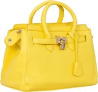 Blue-Tuff Women Yellow PU Sling Bag