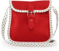 Vogue Tree Polkared Medium Sling Bag - Red