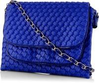 Rosemary Girls Casual Blue Leatherette Sling Bag