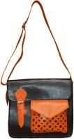 Spice Art Girls Casual Black Leatherette Sling Bag