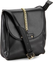 Caprese Women Black Sling Bag