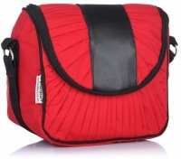 Home Heart Hipster Medium Sling Bag - Red, Black