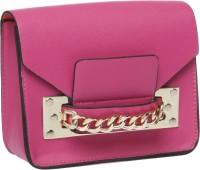 Fur Jaden Women Pink PU Sling Bag