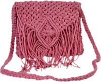 Diwaah Balletic Dark Coral Medium Sling Bag - Pink