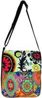 Carry On Bags Ornamental Print Medium Sling Bag - Multicolor