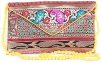 Vistarr Ethnic Medium Sling Bag - Yellow