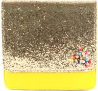 Saisha Classic Medium Sling Bag - Yellow, Gold