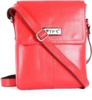 Heaven Deal Women Formal Red Leatherette Sling Bag