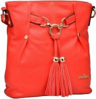 Mod'acc Women Red PU Sling Bag