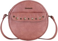 FASTRACK Girls, Women Pink Leatherette Sling Bag