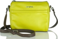 Khiora Women, Girls Formal, Casual, Evening/Party Yellow, Brown Genuine Leather Sling Bag