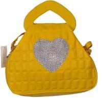 Naaz Bag Collection Women Yellow PU Sling Bag