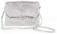 Aliado Women, Girls Grey Silk Sling Bag
