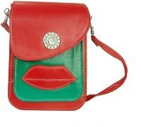 Estoss Women Red Genuine Leather Sling Bag