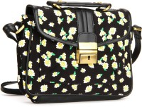 United Colors Of Benetton Women Black Sling Bag