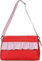 Borsavela Fairy Frill Lavender Medium Sling Bag - Red 02