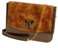 Demure DM 08 Hand Painted Sling Bag (Brown-08)