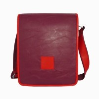 Chimera Leather LMB160271410 Sling Bag - Red