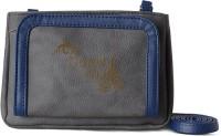 Baggit Women Casual Grey Leatherette Sling Bag