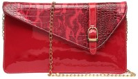 Surmount Girls, Women Casual, Formal, Evening/Party, Festive Red PU Sling Bag