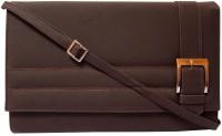 MTE Women Casual Brown PU Sling Bag