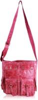 R&F Designs 4 Pocket Large Sling Bag - Pink