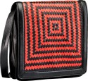 Phive Rivers Sling Bag - Black And Red