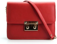 Elizabeth's Tailleur Women Casual Red PU Sling Bag