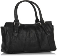 Jag Girls, Women Black Genuine Leather Messenger Bag