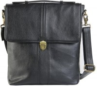 Bendly Unisex Letharite Medium Sling Bag - Black-01