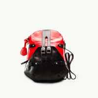 TWACH Bohemian Medium Sling Bag - Red Black