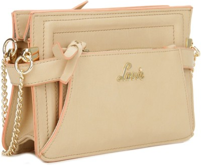 2ba6ca2f0 Buy Online Lavie Women Beige Sling Bag at lowest price on Flipkart.com