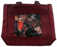 The Museum Outlet Women Orange Canvas Messenger Bag - SLBECQYZGPUJXMWZ