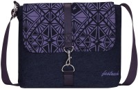 FASTRACK Girls, Women Blue Canvas Sling Bag - SLBEGN3JSHDGGNKZ